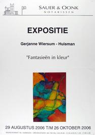 expositie van Gerjanne Wiersum-Huisman bij Sauer & Oonk notarissen