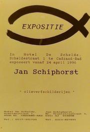 expositie van Jan Schiphorst in hotel De Schelde