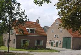 boerderij van De Dreu in de Langemairepolder aan de Ruigendijk 2 onder Driewegen…
