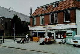 in de 2e handswinkel is ook het postkantoor gevestigd