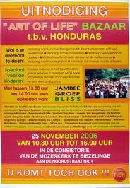 bazaar Art of Life t.b.v. Honduras
