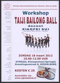 Workshop Taiji Bailong Ball.