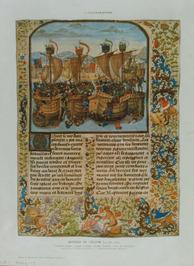 prenten uit l' Histoire de la Marine: un caboteur de l'époque classique grecque …