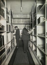 archief van het nieuwe gemeentehuis; ordners