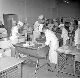nieuwe bakkersafdeling Ambachtschool