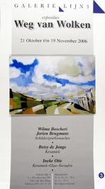 expositie in galerie Lijn 3 Den Haag van o.a. Ineke Otte