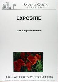 expositie van Alex Benjamin Haenen bij Sauer & Oonk notarissen