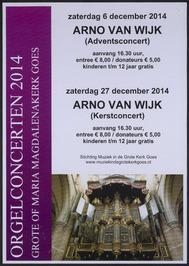 orgelconcert in Grote Maria Magdalenakerk