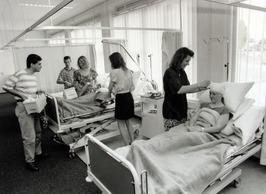 studenten van de opleiding Verpleegkunde op de Hogeschool