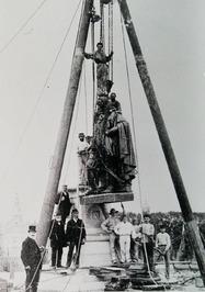 verplaatsing beeld Michiel de Ruyter naar de Boulevard