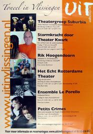 toneel in Vlissingen - Uit kalender