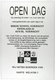 open dag brede school