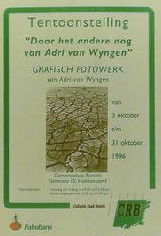 tentoonstelling van Adri van Wyngen in gemeentehuis Borsele