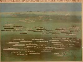 overzicht van de gebouwde schepen, 1875-1950