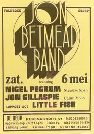 optreden van de Jon Betmead band