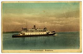 Veerboot Koningin Wilhelmina, veerdienst Vlissingen-Breskens.