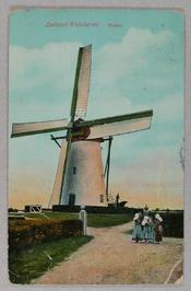 Korenmolen, type grondzeiler, gebouwd in 1712. Deze molen is nooit bewoond gewee…