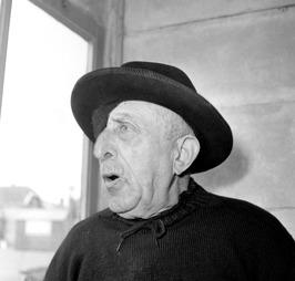 gepensioneerde vissersman