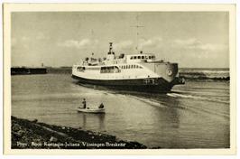 Veerboot Koningin Juliana, veerdienst Vlissingen-Breskens.