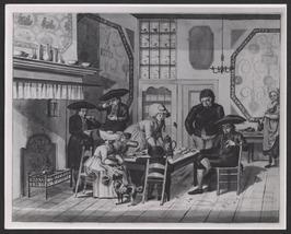 Klederdrachten eerste helft 19e eeuw.