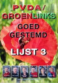 Lijst 3 PvdA/GroenLinks