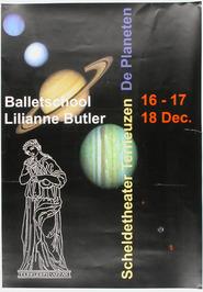 uitvoering balletschool  Lilianne Butler in het Scheldetheater