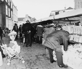 André's bloemenkraam op de Markt