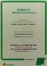 Borsels artiesten gala in De Stenge