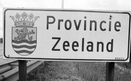bord: Provincie Zeeland
