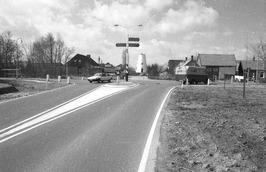 wegverbeteringen, links naar Middelburg gezien komend van Serooskerke