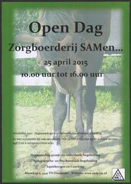 Open Dag Zorgboerderij SAMen.