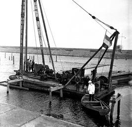 eerste paal Jachthaven