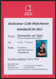 alzheimer café Walcheren in 't Gasthuis