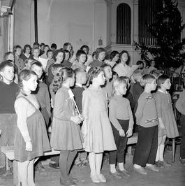 kerstuitvoering in de Concert- en Gehoorzaal door leerlingen van de Zeeuwse Muzi…