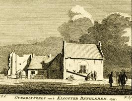 Voormalig cisterciënzer klooster Bethlehem. Rond 1224 gebouwd, in 1572 door de G…