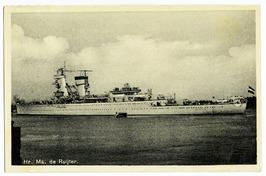 Hr. Ms. De Ruijter, gebouwd bij De Schelde.