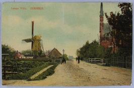 laatste gedeelte vanaf het dorp tot aan de Grindweg De in 1729 gebouwde molen we…