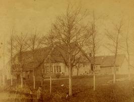 boerderij Deurwaarstee (rond 1893 afgebroken), ten noorden van de Pluimpot, bewo…