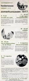zomerkursussen vormingscentrum Hedenesse