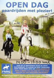 open dag paardrijden