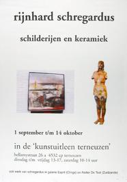 tentoonstelling van Rijnhard Schregardus in de kunstuitleen