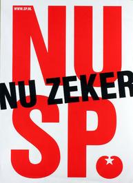 SP affiche t.g.v. Provinciale statenverkiezingen maart 2006