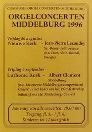 orgelconcerten in de Nieuwe kerk en de Lutherse kerk georganiseerd door de commi…