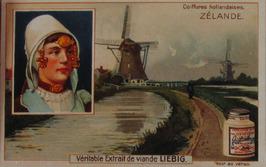 coiffures hollandaises Zélande Véritable Extrait de viande LIEBIG