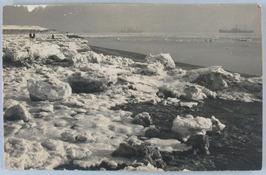 sneeuw; ijsschotsen