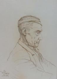 portret van Kees uit Westkapelle
