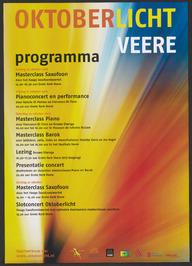 Programma Oktoberlicht Veere 2016.