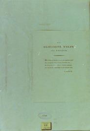 gedicht ter ere van Betje Wolff door A. Loosjes Pz.