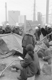 actieweekend tegen kernenergie en herdenking van ramp Tjsernobyl