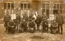 Gemobiliseerde soldaten.